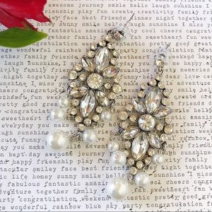Pearl Statement Earrings